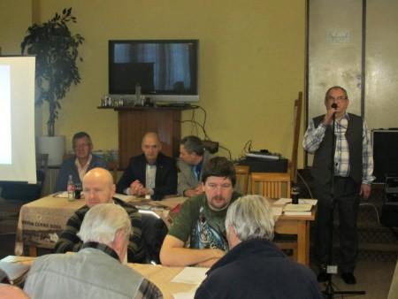 Výroční členská schůze delegátů místních skupin